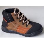 Detská obuv - hnedo/oranžová, vz.551