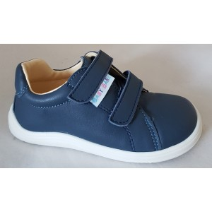 Baby Bare Shoes Spring barefoot obuv - navy