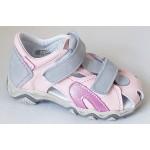 Detské sandálky - ružové, vz.587