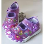 Detské plátenky - fialový hríbik
