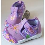Detské plátenky - fialový motýľ