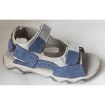 Detské sandálky - modro / šedá, vz.543
