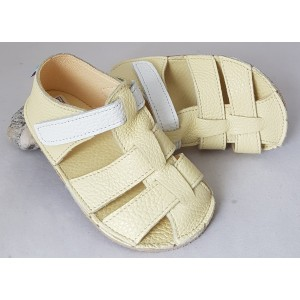 Baby Bare Sandals New - Canary