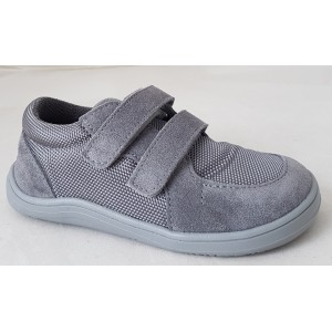 Barefoot obuv Baby Bare Sneakers - grey