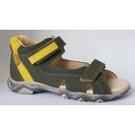 Detské sandálky - zelená, vz.653