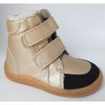Barefoot obuv Baby Bare Febo Winter - gold
