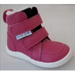 Barefoot obuv Baby Bare Febo Winter - fuchsia