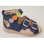 Detské sandálky - modrá, vz.496