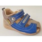 Detské sandálky s reflexným pásikom, vz.628