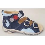 Detské sandálky - modrá tyrkys, vz.604