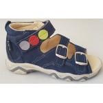 Detské sandálky - modrá, vz.604