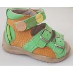 Detské sandálky - zelená, vz.496