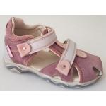 Detské sandálky - ružová, vz.623
