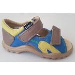 Detské sandálky - modro-zelená, vz.587