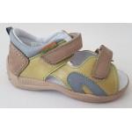 Detské sandálky - zelené, vz.587