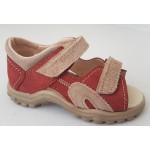 Detské sandálky - terakota, vz.587