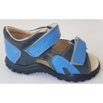 Detské sandálky - modré, vz.587