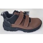 Topánky s Te-por podšívkou - hnedá, vz.600