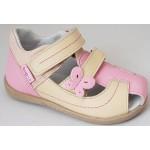 Detské sandálky - motýlik, vz.628