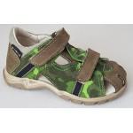 Detské sandálky - maskáč, vz.652