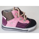 Detská obuv - ružová, vz.551
