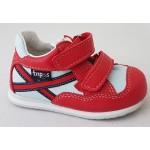 Detská obuv - červená, vz.633