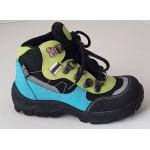 Detská obuv Te-por podšívka - zelená, vz.643
