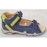 Detské sandálky - modro-zelená, vz.653