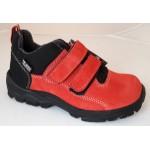 Topánky s Te-por podšívkou - červená, vz.600