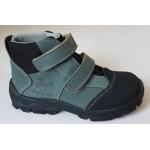Celoročné te-por topánky - zelená, vz.705