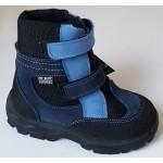 Zimné te-por topánky - bledo modrá/ modrá, vz.607