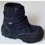 Zimné te-por topánky - tmavá modrá, vz.607