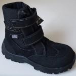 Zimné te-por topánky - čierna, vz.607