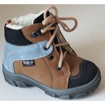 Detská obuv - hnedo-modrá, vz.567