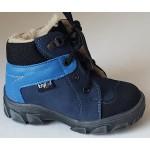 Detská zimná obuv - modro-bledo modrá, vz.567