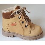 Detská zimná obuv - bledo hnedá, vz.567