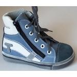 Celoročné topánky - modro-biela, vz.639