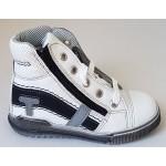 Celoročné topánky - bielo-čierna, vz.639