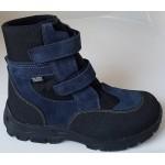 Zimné te-por topánky - modrá, vz.607