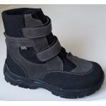Zimné te-por topánky - šedá, vz.607