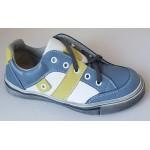 Celoročné topánky - modro -biela, vz.637