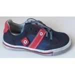 Celoročné topánky - modro - červená, vz.637