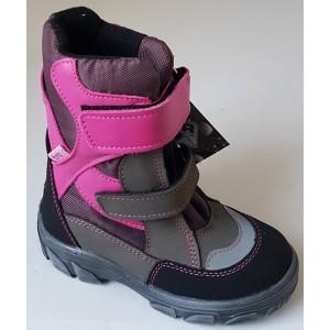 Topánky s te-por podšívkou - fuchsia, vz.617