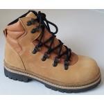 Koženná celoročná obuv - hnedá, vz.648Z