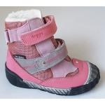 Topánky s te-por podšívkou - ružová, vz.596