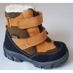 Topánky s te-por podšívkou- bledo hnedá, vz.596