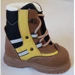 Zimné te-por topánky - hnedá, vz.469