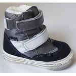 Topánky s te-por podšívkou - šedá, vz.596