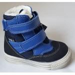 Topánky s te-por podšívkou - modrá, vz.596