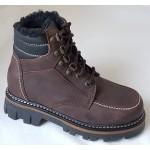 Zimná celokoženná obuv, vz.033